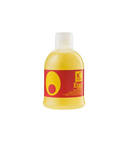 Шампунь яичный для сухих и нормальных волос KJMN EGG 1000 мл