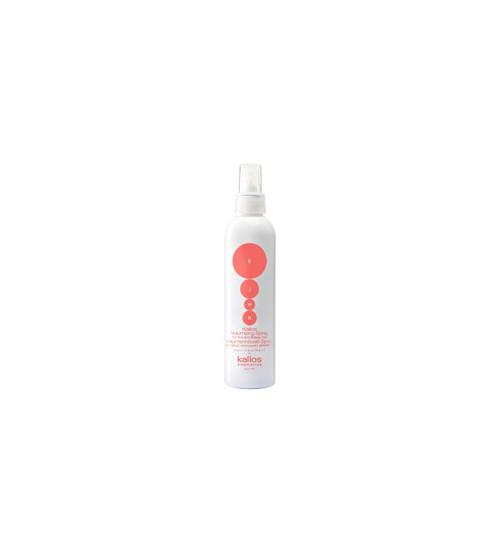 Спрей для увеличения объёма и удержания формы тонких безжизненных волос KJMN VOLUMIZING 200 мл